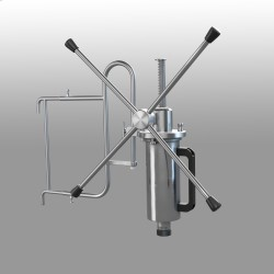 Manual dosing pump